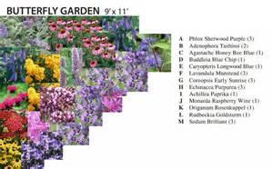 butterfly garden plan cottage garden living