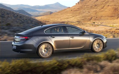 Opel Insignia 2014 Widescreen Car Wallpaper 03 Of