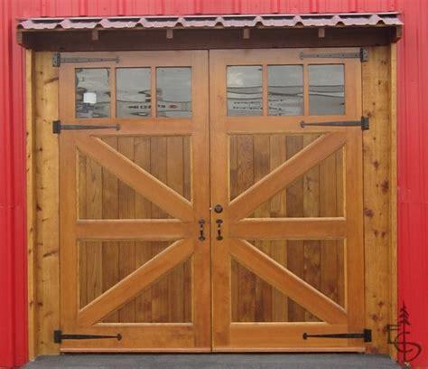 Carriage Barn Doors Brittania Braced Carriage Doors Garage Doors And Openers By Evergreen Carriage Doors