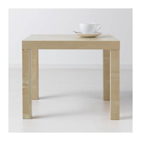 Lack Side Table Lack Side Table Birch Effect 55x55 Cm Ikea