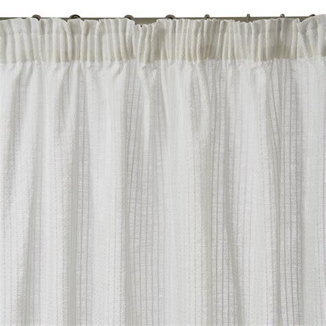 gathered curtains gathered sheer curtain zephir white madura
