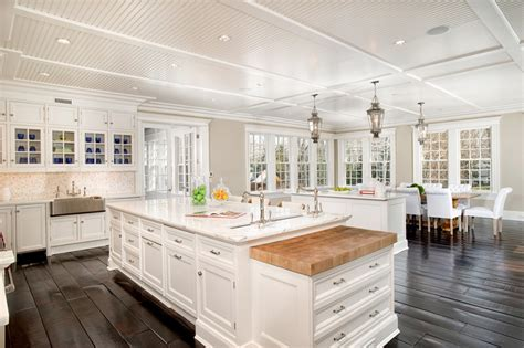 traditional kitchen with prep island and pendant lighting 63 beautiful traditional kitchen designs designing idea