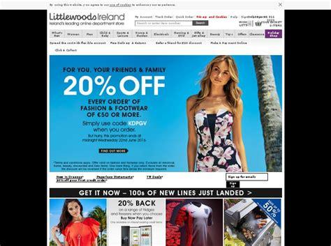 littlewoods ireland voucher vouchercodes for discount