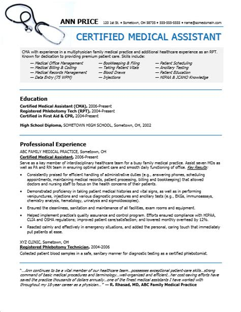 cover letter example of medical assistant resume examples of