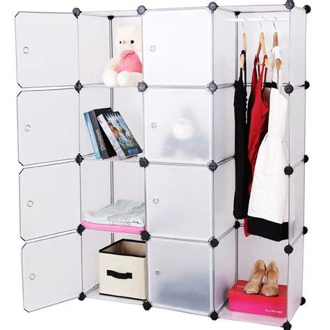 guardaroba in plastica armadio armadietto guardaroba a cubo cubi scaffale