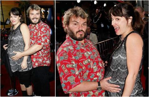 jack black married actor jack black s funny family wife and cute children