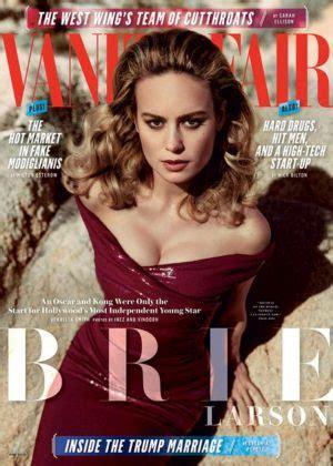 Vanity Fair Magazine Editorial Calendar 2017 Brie Larson In Vanity Fair Magazine May 2017