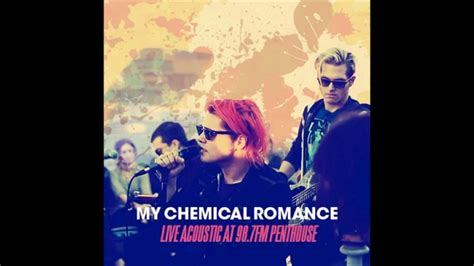 my chemical romance acoustic my chemical romance summertime live acoustic at 98 7 fm