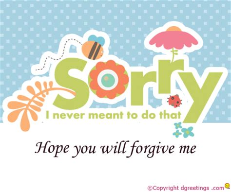 how to make a sorry card sorry card