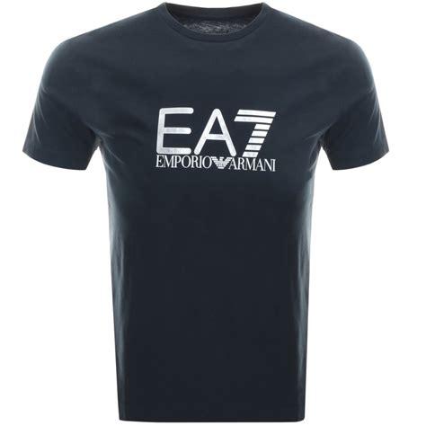 Tshirt Giorgio Armani Dealldo Merch ea7 emporio armani visibility logo t shirt navy mainline menswear