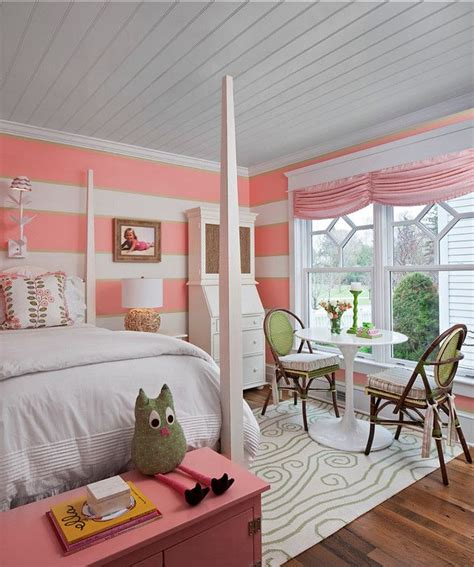 ideas  coral walls bedroom  pinterest