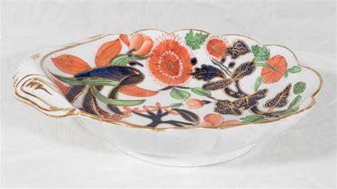 leaf pattern dishes pair of coalport porcelain quot banana leaf quot pattern shaped