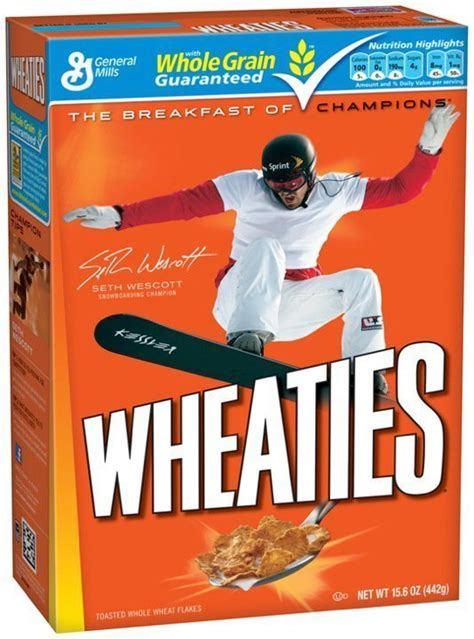 wheaties box template write mental toughness goes to college