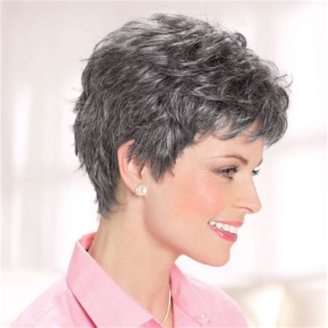 salt and pepper weave hair styles for black women large size wigs for women over 50 short hairstyle 2013