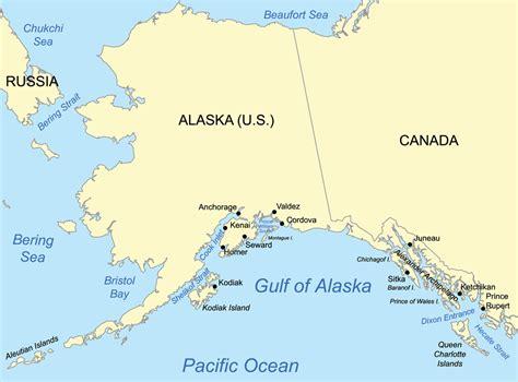 the gulf of alaska where two oceans meet but do not mix