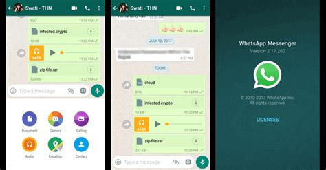 whatsapp apk file whatsapp messenger v2 17 272 apk to send any file or documents in chat axeetech