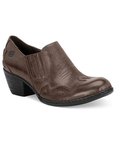 macy s comfort shoes born shoes amibeth booties comfort shoes macy s
