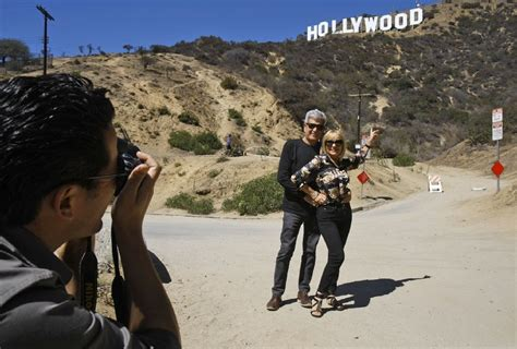 hollywood sign view near me hiking trail to hollywood sign reopens la times