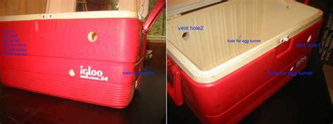 Lubang Sirkulasi Udara Ventilasi Mesin Tetas membuat mesin tetas dari barang bekas klub burung