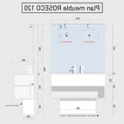 awesome hauteur meuble salle de bain suspendu contemporary