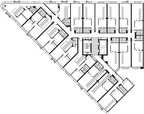 flatiron building floor plan by elenberg fraser australian design review