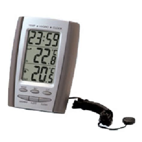 Thermometer Termometer Hygrometer Indoor Outdoor indoor outdoor thermometer hygrometer clock