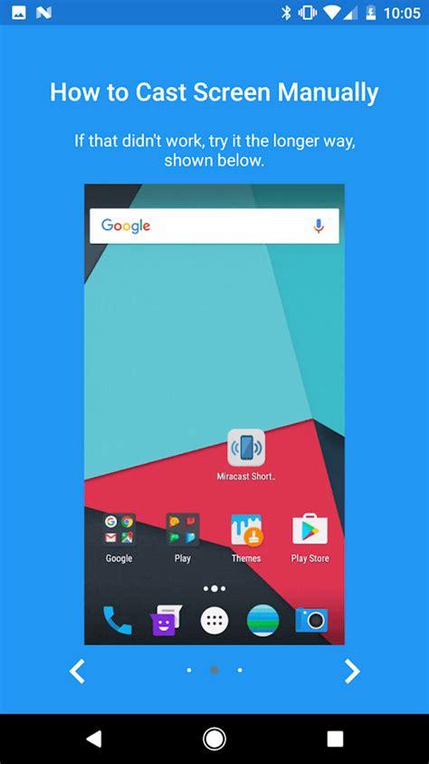 miracast apk miracast widget shortcut apk android cats video players editors apps