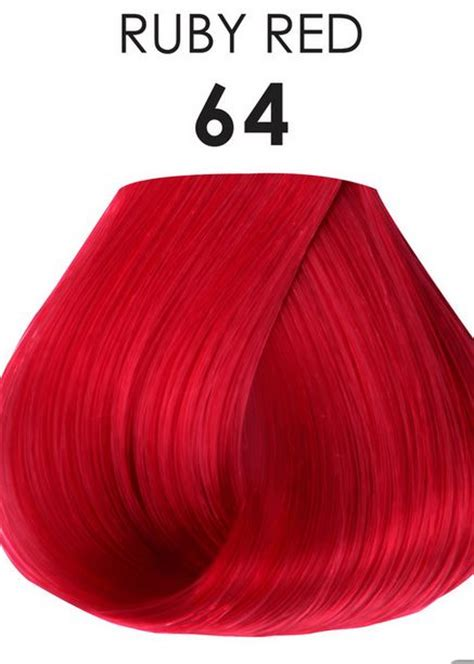 adore semi permanent hair color adore semi permanent hair color 64 ruby 4 oz