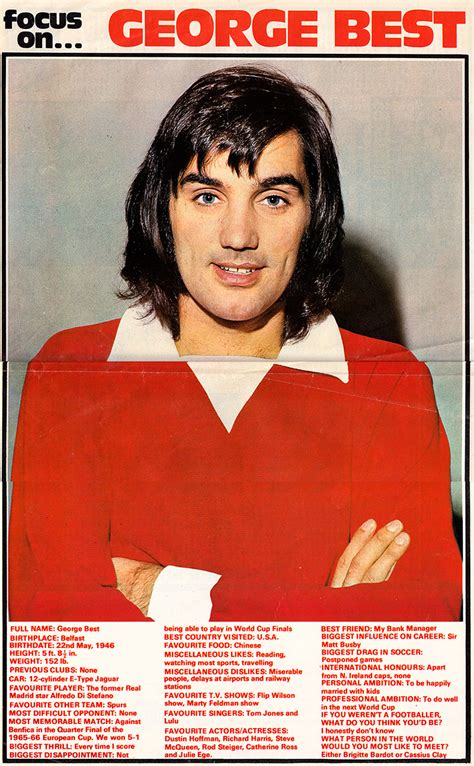 george best 7 more george best 1970 brand new retro