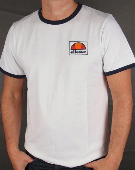 Tshirt Ellesse New One Tshirt ellesse montefello ringer t shirt white mens heritage