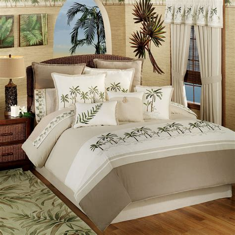 bedroom bring tropical paradise    home  tropical bedding ideas