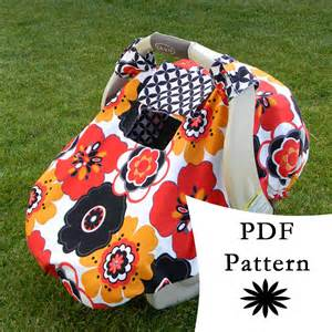 Patterns For Infant Car Seat Covers For Winter Sale Fitted Car Seat Canopy With Peek A Boo Window Pdf