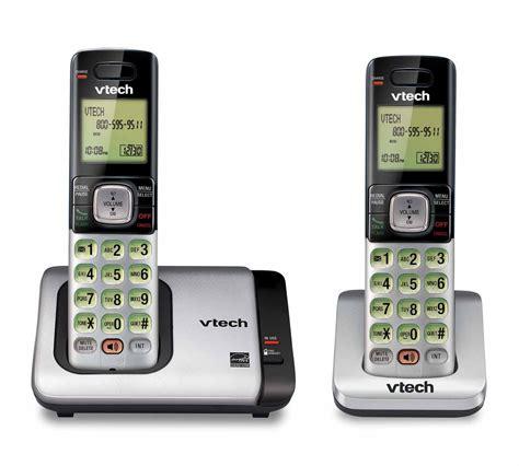 call house phone upc 735078028242 vtech 2 handset cordless phone system w caller id call waiting cs6719 2