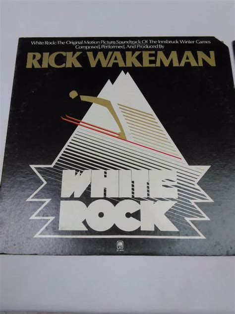White Criminal Record Rick Wakeman 2 White Rock Criminal Record Vinyl Album Resurgence Auction K Bid