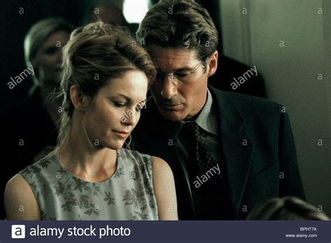unfaithful film richard diane lane richard gere unfaithful 2002 stock photo