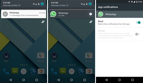 notification android managing app notifications on android 5 0 lollipop the android soul