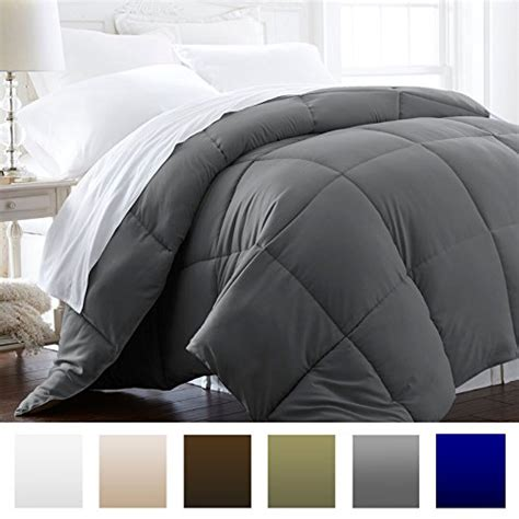 grey down comforter king lightweight luxury goose down alternative comforter
