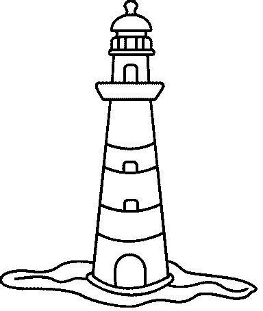 coloring pages lighthouse free printable drawings of lighthouses cliparts co