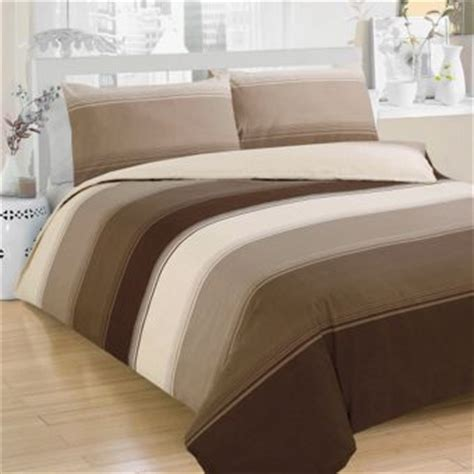 bed cover set shopping soft stripe duvet cover homebase co uk