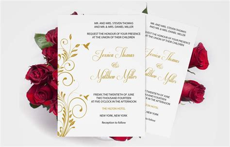 invitation design print yourself free printable wedding invitation templates wedding