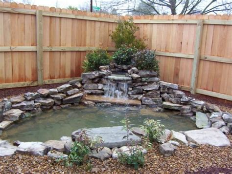 small backyard waterfalls really like this one think i could do it landscaping