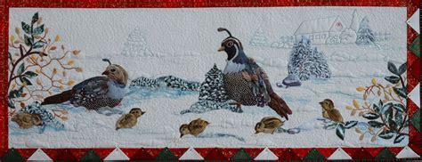 quail family block pattern