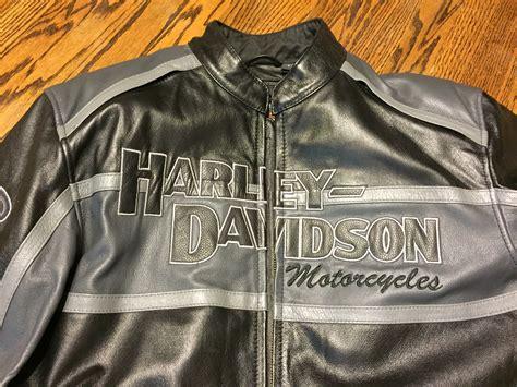 Harley Davidson 6295 Black Black Leather For harley davidson mens classic cruiser winged b s black leather jacket harley davidson forums