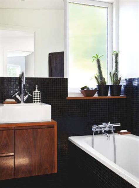 small bathroom black and white tiles 30 small black and white bathroom tiles ideas and pictures