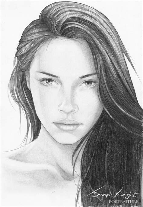 girl face drawing draw girl face photo realistic girl face sketch drawing