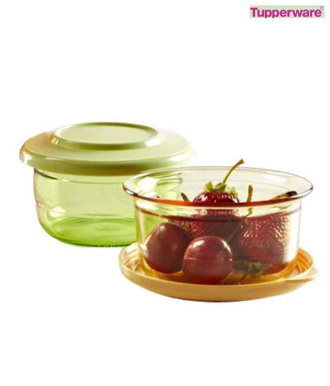 Tupperware Clear Bowl Set 2 tupperware preludio bowl set buy at best price in india snapdeal