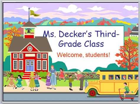 back to school powerpoint back to school powerpoint template