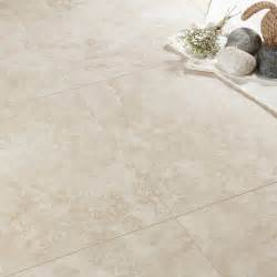 Cheap Laminate Flooring Bq - quickstep tila cream travertine tile effect laminate flooring 1 m 178 pack departments diy at b amp q