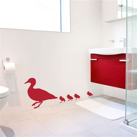 duck wall stickers family of ducks wall decal sticker