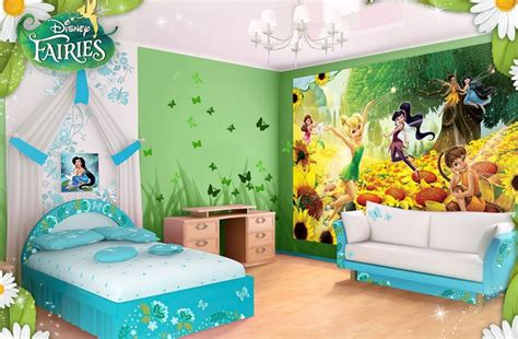 tinkerbell bedroom wallpaper tinker bell wall murals for children s bedroom